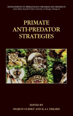 Primate Anti-Predator Strategies (eBook, PDF)