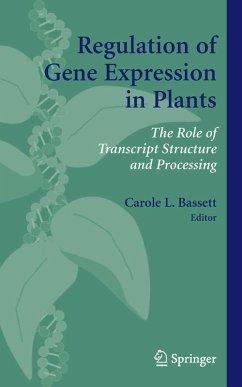 Regulation of Gene Expression in Plants (eBook, PDF)