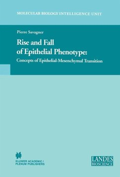 Rise and Fall of Epithelial Phenotype (eBook, PDF) - Savagner, Pierre
