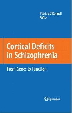 Cortical Deficits In Schizophrenia (eBook, PDF)