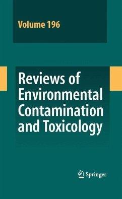 Reviews of Environmental Contamination and Toxicology 196 (eBook, PDF)