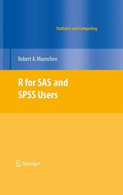 R for SAS and SPSS Users (eBook, PDF) - Muenchen, Robert A.