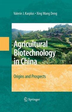 Agricultural Biotechnology in China (eBook, PDF) - Karplus, Valerie J.; Deng, Xing Wang