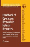 Handbook Of Operations Research In Natural Resources (eBook, PDF)
