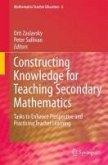 Constructing Knowledge for Teaching Secondary Mathematics (eBook, PDF)