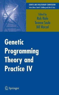 Genetic Programming Theory and Practice IV (eBook, PDF)