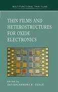 Thin Films and Heterostructures for Oxide Electronics (eBook, PDF)