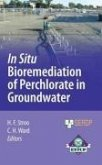In Situ Bioremediation of Perchlorate in Groundwater (eBook, PDF)