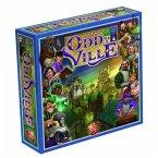 Pegasus WYG00003 - Oddville, Brettspiel, Familienspiel