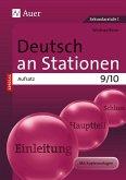 Deutsch an Stationen SPEZIAL Aufsatz 9-10
