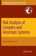 Risk Analysis of Complex and Uncertain Systems (eBook, PDF) - Cox, Louis Anthony