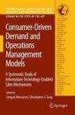 Consumer-Driven Demand and Operations Management Models (eBook, PDF)