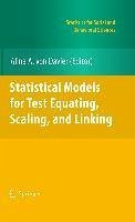 Statistical Models for Test Equating, Scaling, and Linking (eBook, PDF)