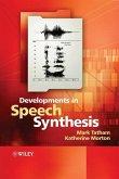 Developments in Speech Synthesis (eBook, PDF)