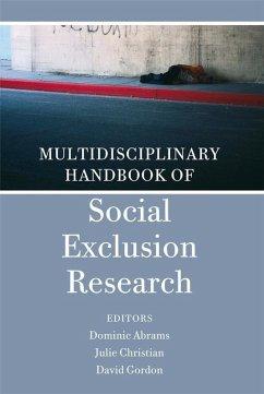 Multidisciplinary Handbook of Social Exclusion Research (eBook, PDF)