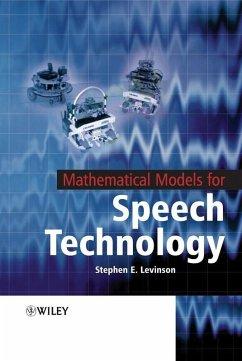Mathematical Models for Speech Technology (eBook, PDF) - Levinson, Stephen