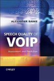 Speech Quality of VoIP (eBook, PDF)