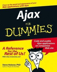 Ajax For Dummies (eBook, PDF) - Holzner, Steve