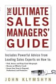 The Ultimate Sales Managers' Guide (eBook, PDF)