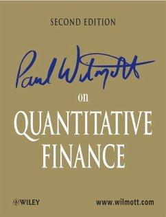 Paul Wilmott on Quantitative Finance (eBook, PDF) - Wilmott, Paul