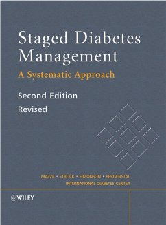 Staged Diabetes Management (eBook, PDF) - Mazze, Roger; Strock, Ellie S.; Simonson, Gregg D.; Bergenstal, Richard M.