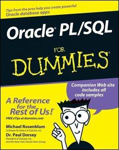 Oracle PL / SQL For Dummies (eBook, PDF) - Rosenblum, Michael; Dorsey, Paul