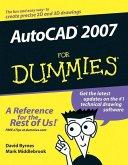 AutoCAD 2007 For Dummies (eBook, PDF)