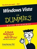 Windows Vista For Dummies Quick Reference (eBook, PDF)