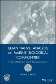 Quantitative Analysis of Marine Biological Communities (eBook, PDF)