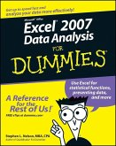 Excel 2007 Data Analysis For Dummies (eBook, PDF)