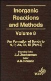 Inorganic Reactions and Methods, Volume 8, The Formation of Bonds to N, P, As, Sb, Bi (Part 2) (eBook, PDF)