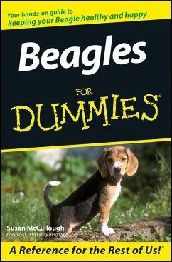 Beagles For Dummies (eBook, PDF) - Mccullough, Susan