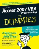 Access 2007 VBA Programming For Dummies (eBook, PDF)