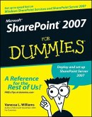 Microsoft SharePoint 2007 For Dummies (eBook, PDF)