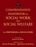 Comprehensive Handbook of Social Work and Social Welfare, Volume 1, The Profession of Social Work (eBook, PDF)