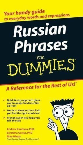 Russian Phrases For Dummies Ebook Pdf Von Andrew Kaufman