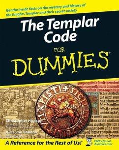 The Templar Code For Dummies (eBook, PDF) - Hodapp, Christopher; Kannon, Alice Von