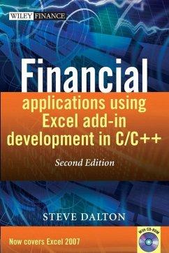 Financial Applications using Excel Add-in Development in C / C++ (eBook, PDF) - Dalton, Steve
