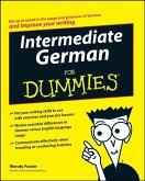Intermediate German For Dummies (eBook, PDF)