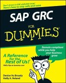 SAP GRC For Dummies (eBook, PDF)