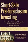 Short-Sale Pre-Foreclosure Investing (eBook, PDF)