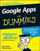 Google Apps For Dummies (eBook, PDF)