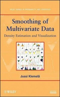 Smoothing of Multivariate Data (eBook, PDF) - Klemelä, Jussi