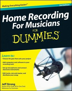 Home Recording For Musicians For Dummies (eBook, ePUB) - Strong, Jeff