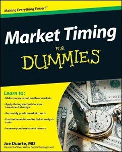 Market Timing For Dummies (eBook, ePUB) - Duarte, Joe