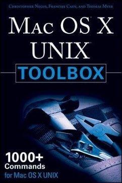 MAC OS X UNIX Toolbox (eBook, PDF) - Negus, Christopher