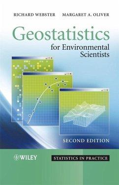 Geostatistics for Environmental Scientists (eBook, PDF) - Webster, Richard; Oliver, Margaret A.