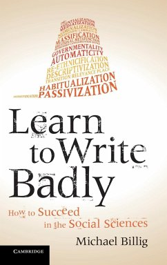 Learn to Write Badly - Billig, Michael