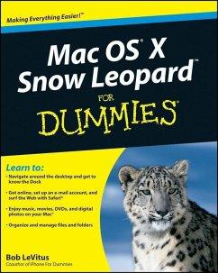 Mac OS X Snow Leopard For Dummies (eBook, PDF) - Levitus, Bob