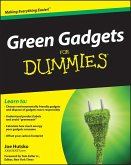 Green Gadgets For Dummies (eBook, PDF)